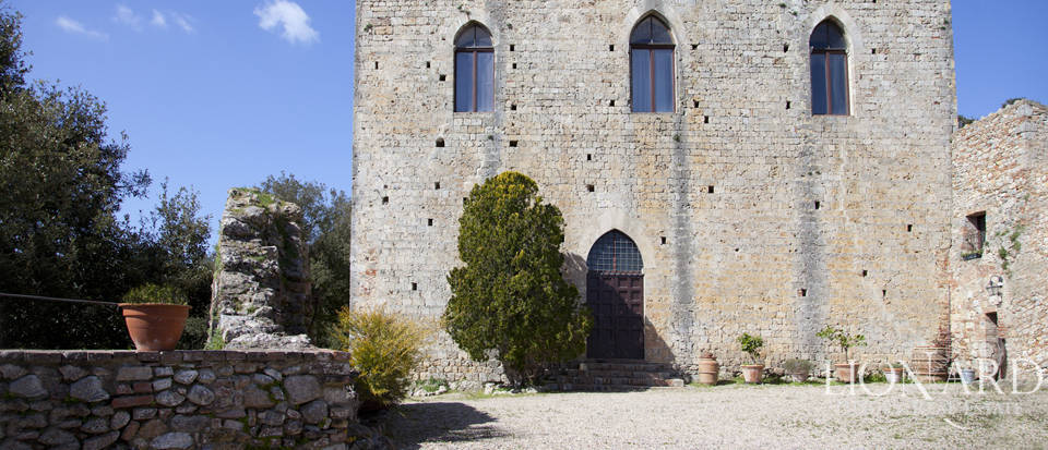 ancient castle for sale on the hills of siena