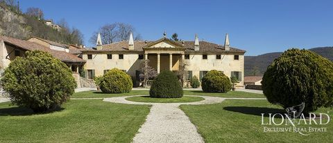 elegant period villa for sale in vicenza