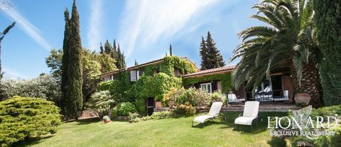 splendid villa with seafront view in the argentario