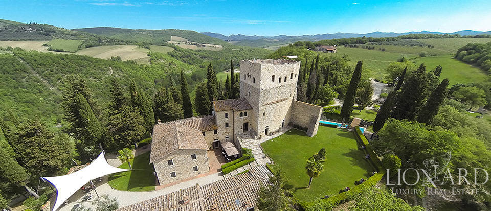 Castle with Vineyard for Sale in the Heart of Chianti Image 1
