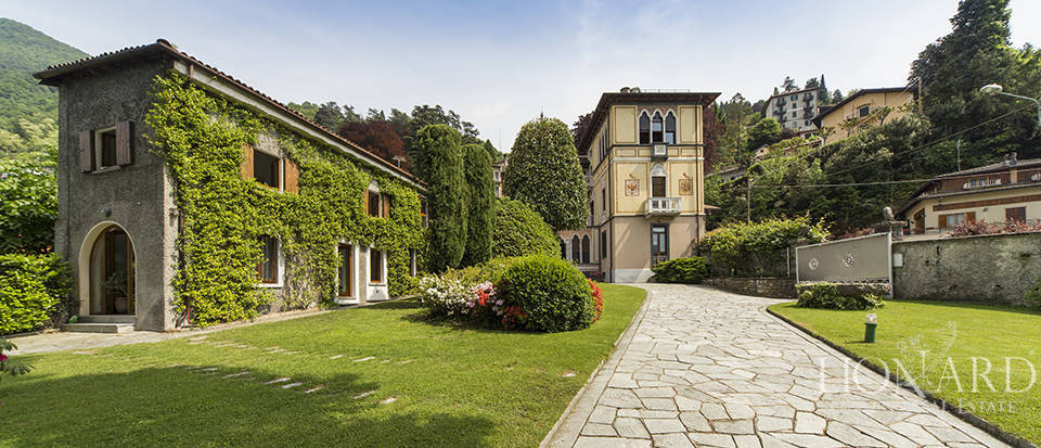 splendid villa on the shores of lake como