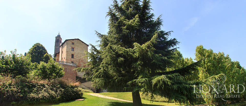 antique castle in piedmont