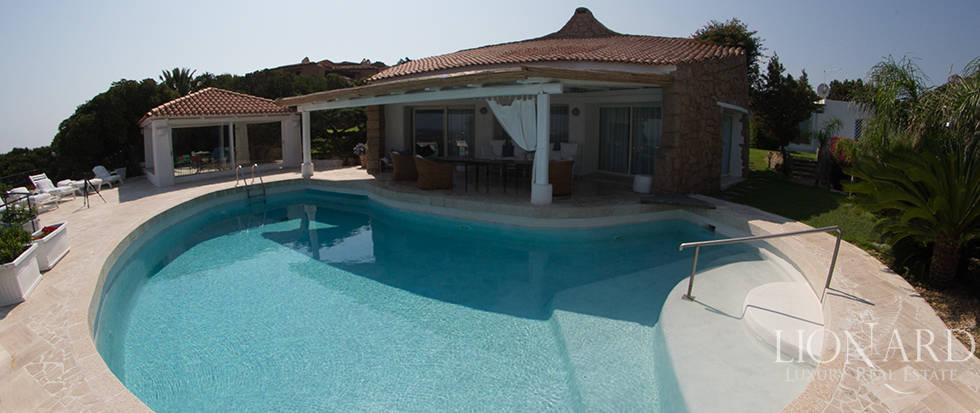splendid luxury villa for sale in porto cervo