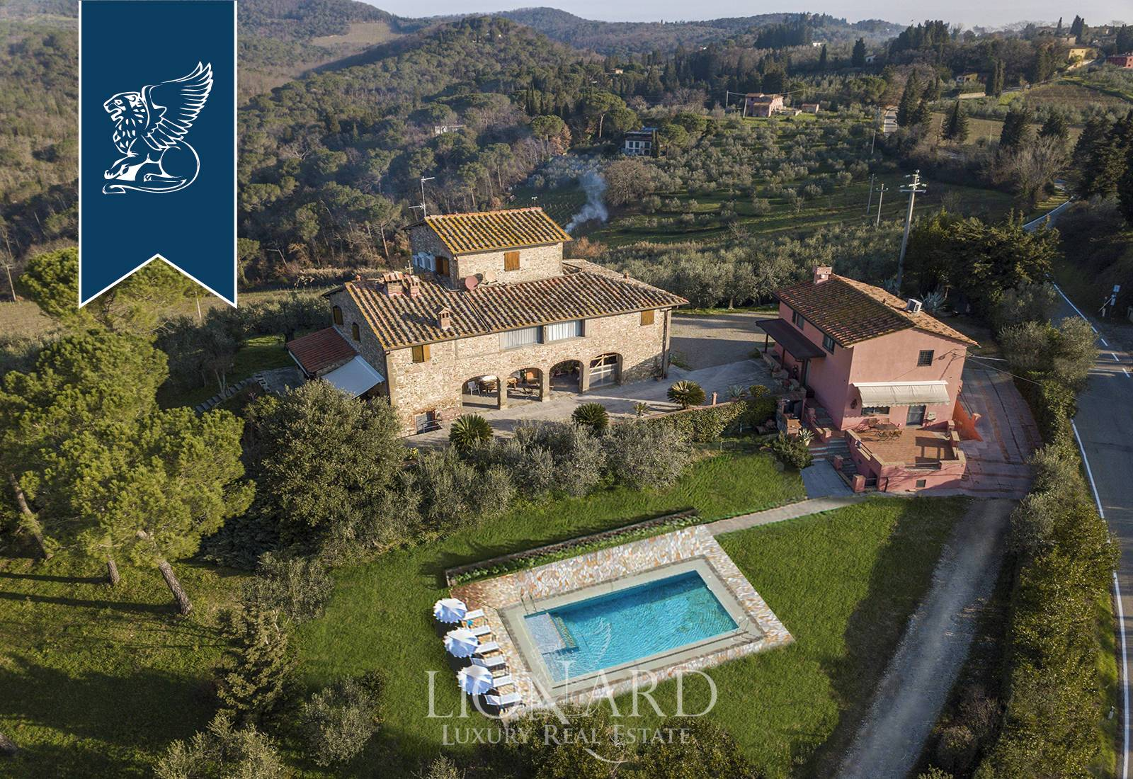 Villa in Vendita a San Casciano In Val Di Pesa: 0 locali, 600 mq - Foto 1