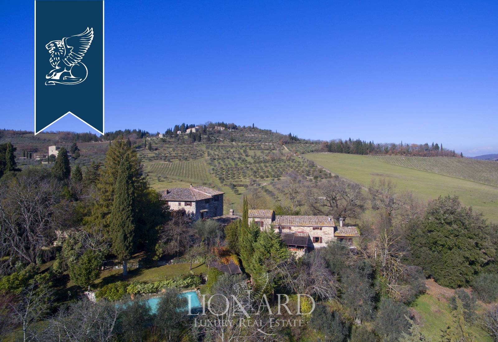 Villa in Vendita a Castellina In Chianti: 0 locali, 720 mq - Foto 2