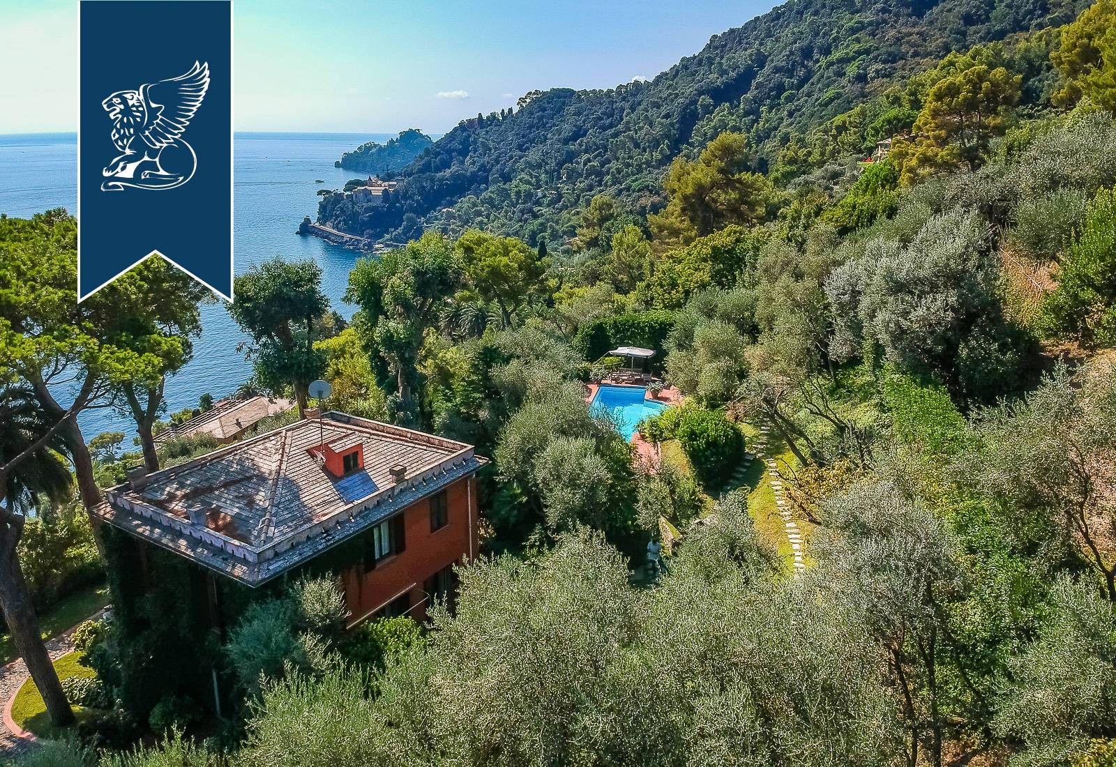 Villa in Vendita a Santa Margherita Ligure: 0 locali, 459 mq - Foto 3