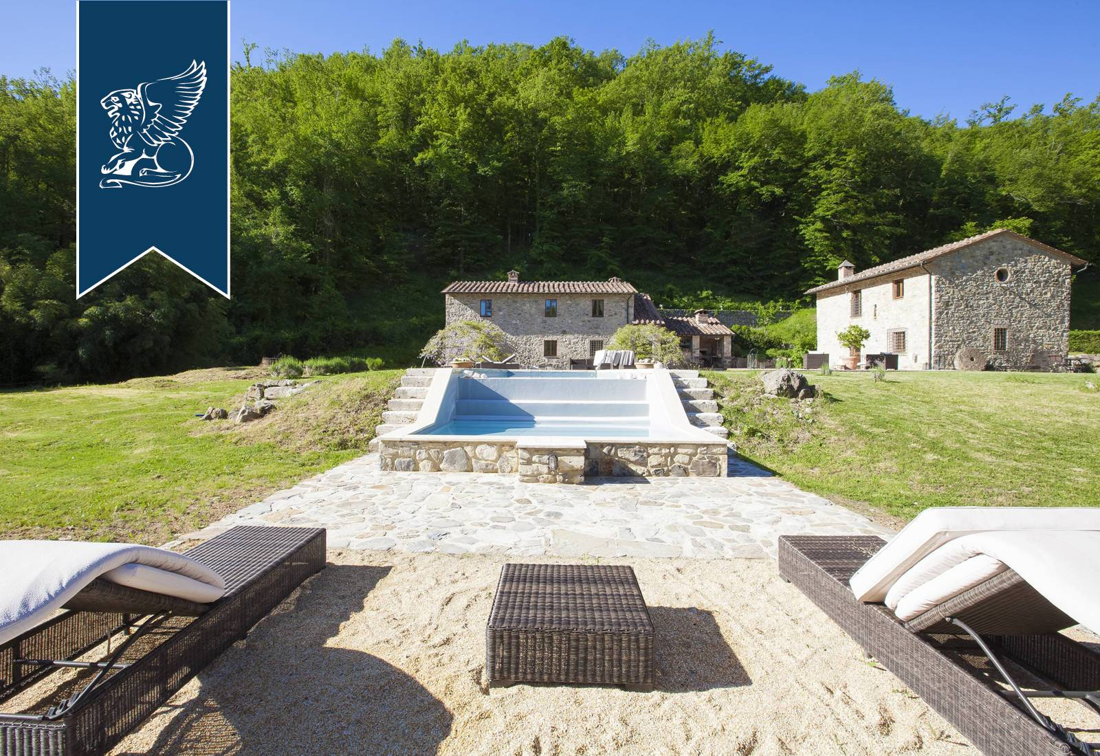 Villa in Vendita a Radicondoli: 0 locali, 510 mq - Foto 3