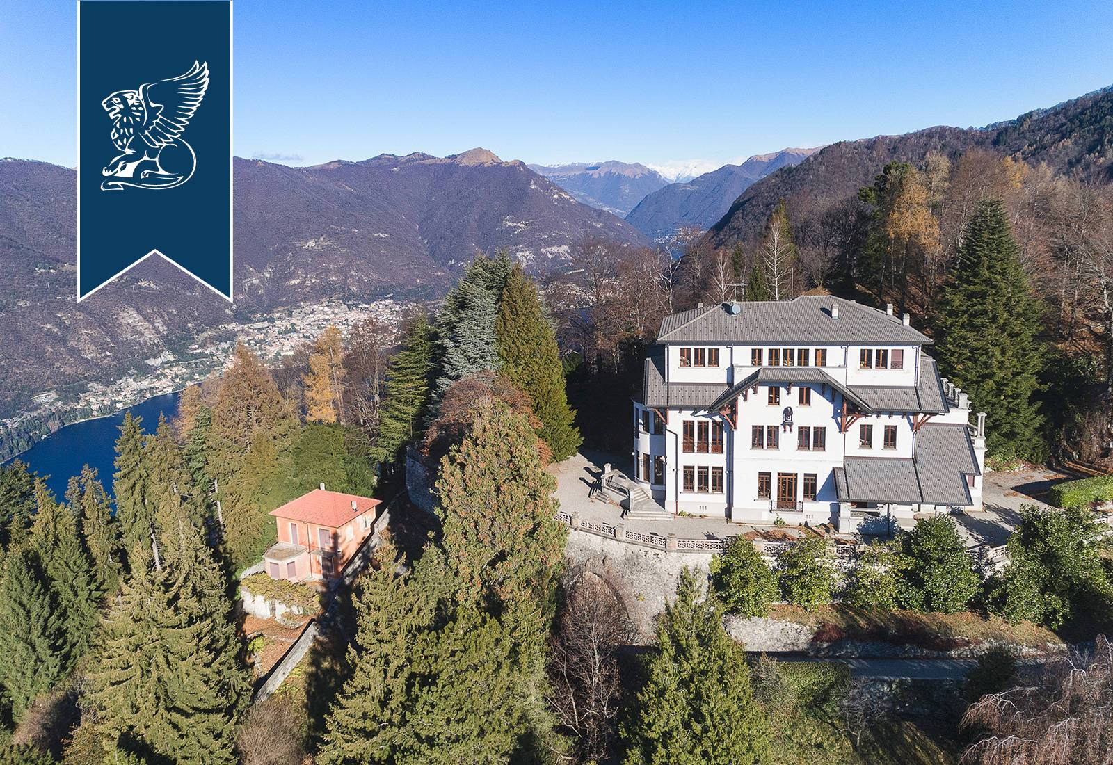 Villa in Vendita a Brunate: 0 locali, 1500 mq - Foto 3
