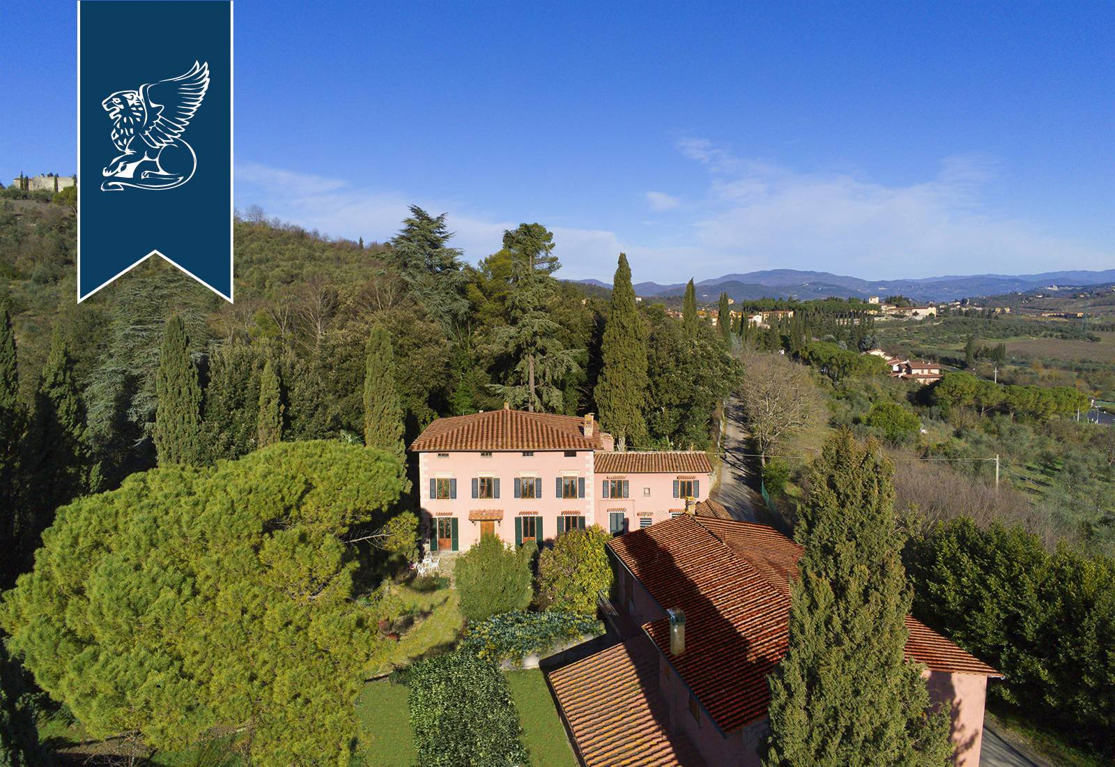 Villa in Vendita a Rignano Sull'Arno: 0 locali, 1080 mq - Foto 1