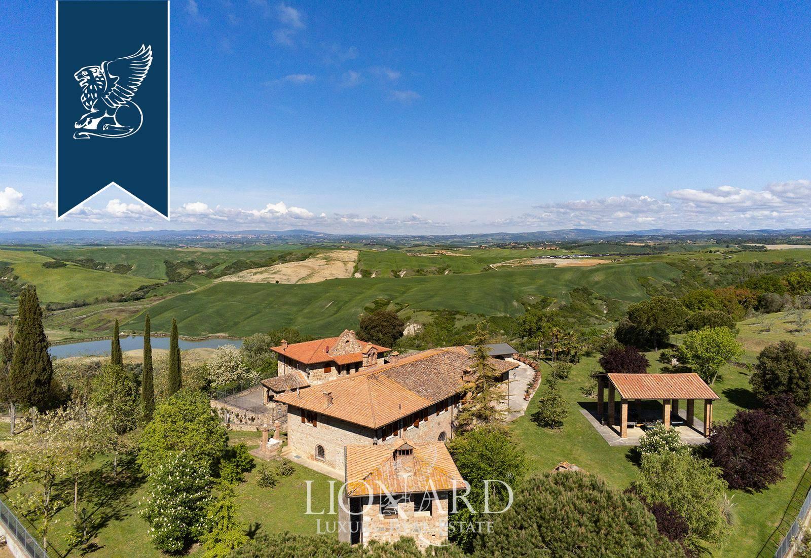 Villa in Vendita a Asciano: 0 locali, 1190 mq - Foto 5