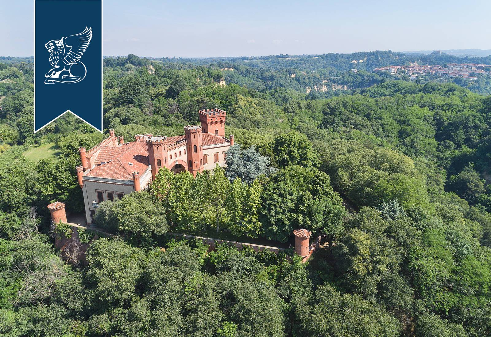 Villa in Vendita a Baldissero D'Alba: 0 locali, 2500 mq - Foto 4