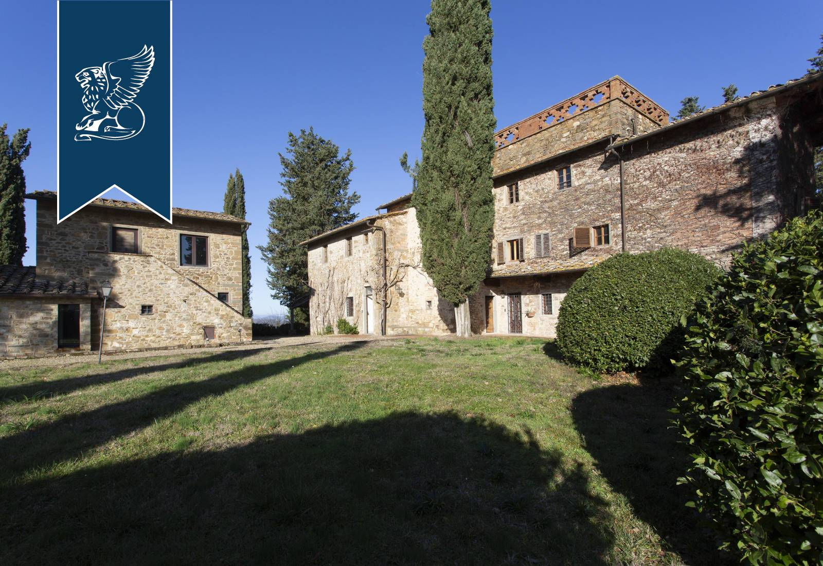 Villa in Vendita a Greve In Chianti: 0 locali, 1040 mq - Foto 4