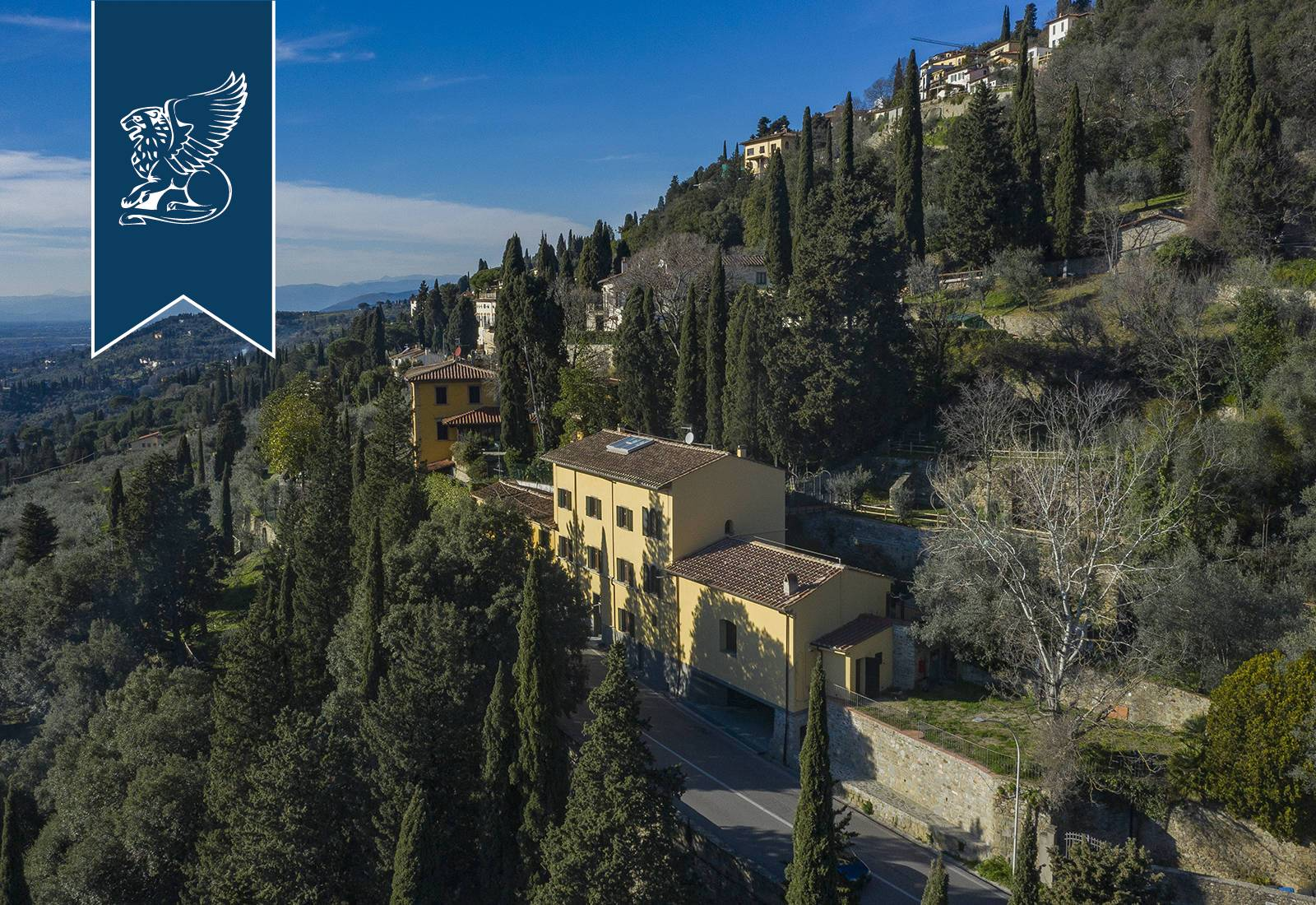 Villa in Vendita a Fiesole: 0 locali, 726 mq - Foto 2