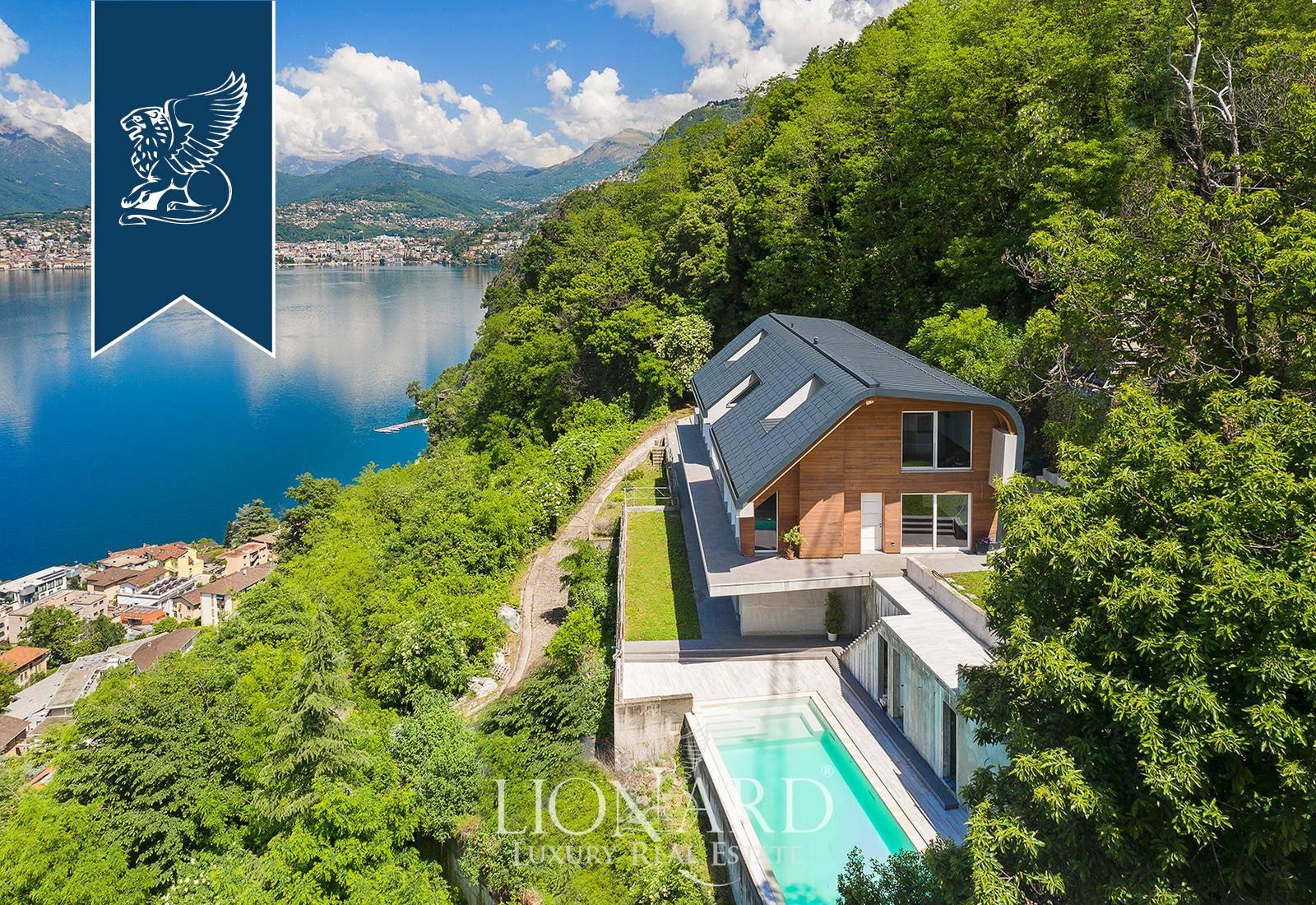 Villa in Vendita a Campione D'Italia: 820 mq