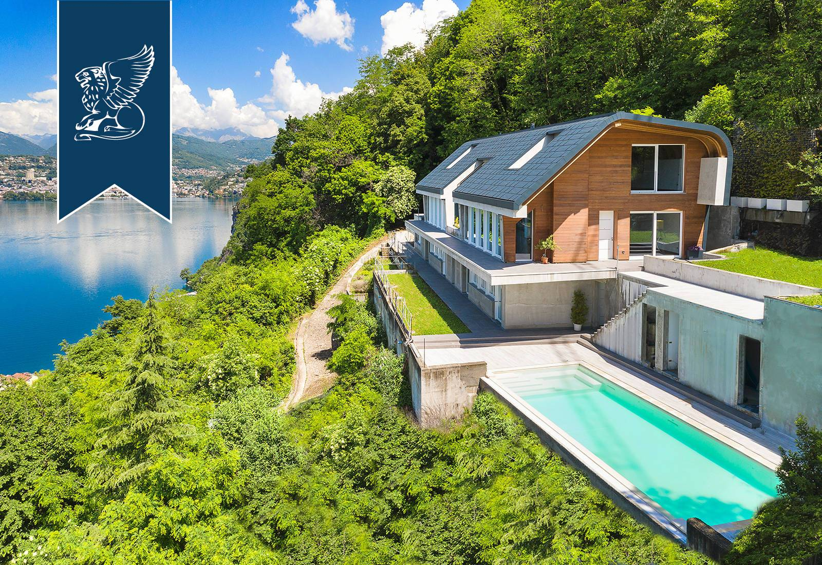 Villa in Vendita a Campione D'Italia: 0 locali, 820 mq - Foto 2