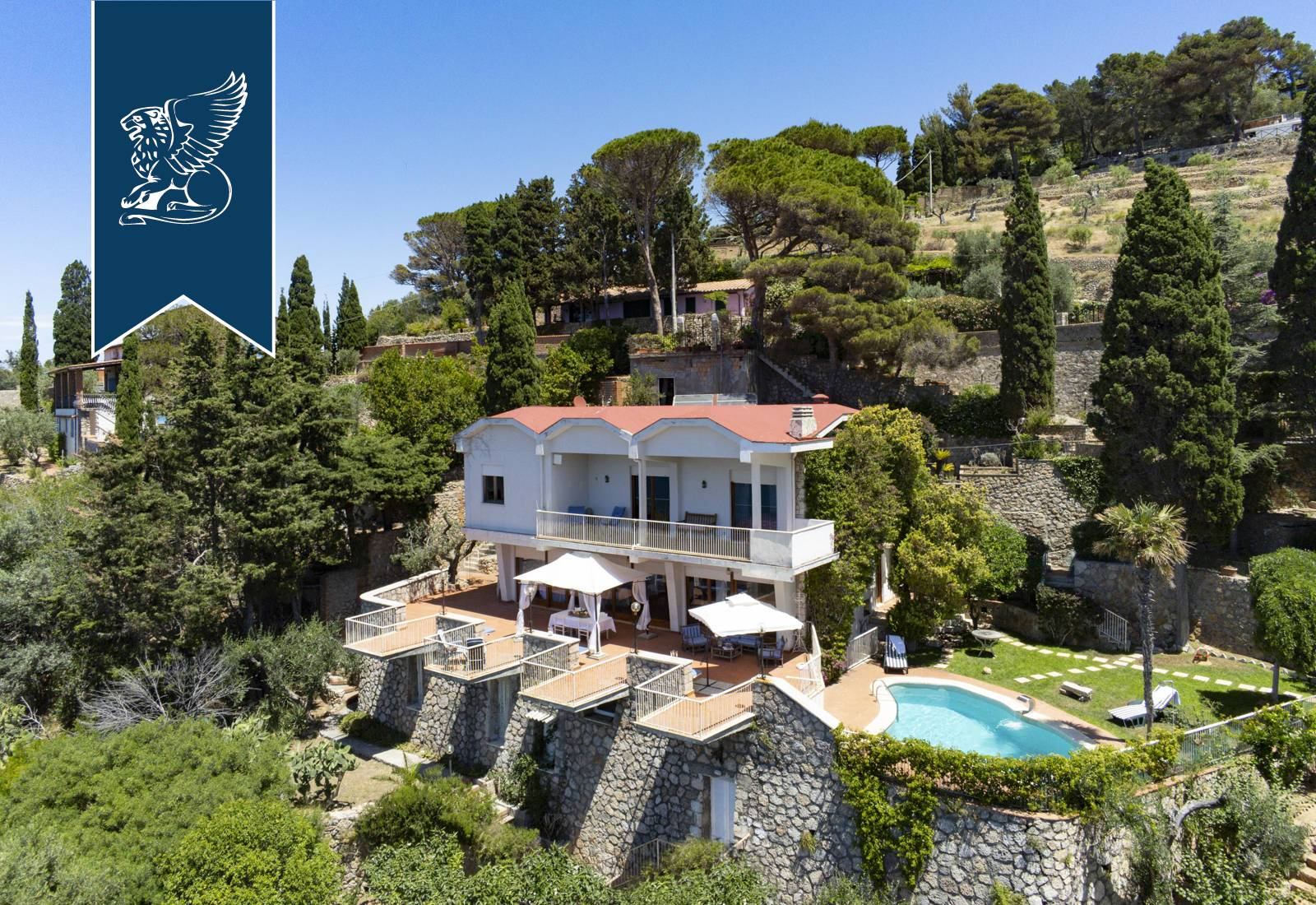 Villa in Vendita a Monte Argentario: 0 locali, 500 mq - Foto 2