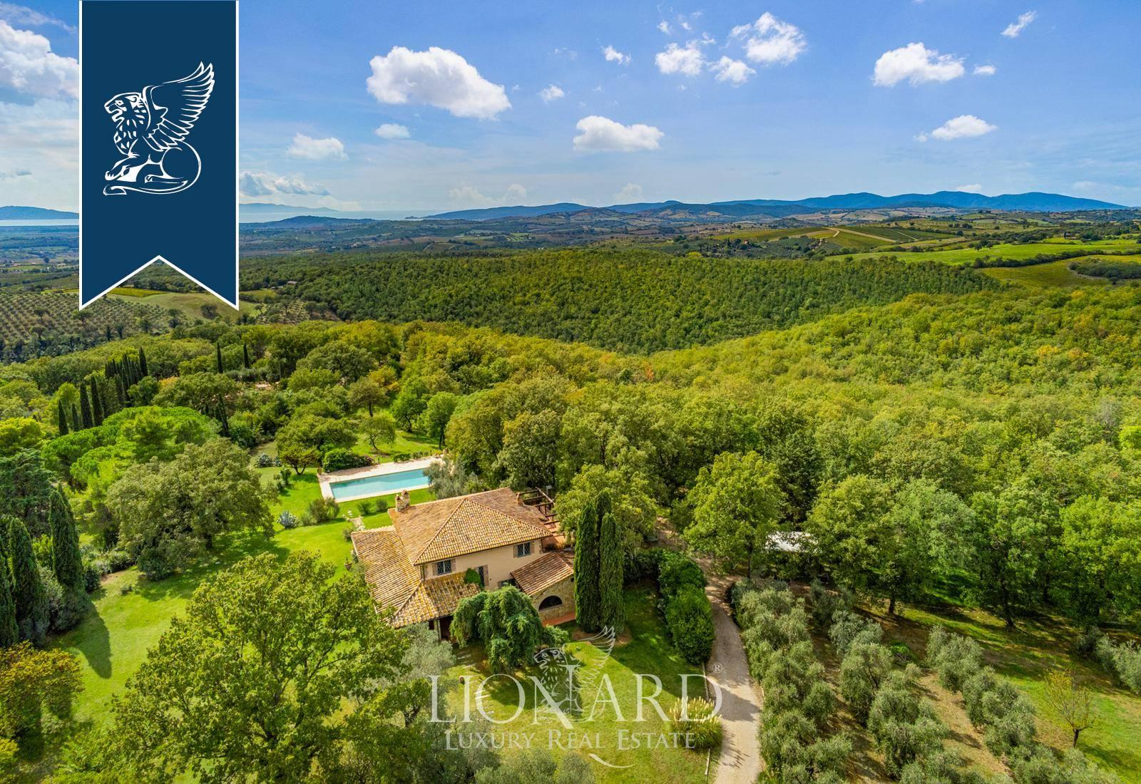 Villa in Vendita a Magliano In Toscana: 0 locali, 550 mq - Foto 6