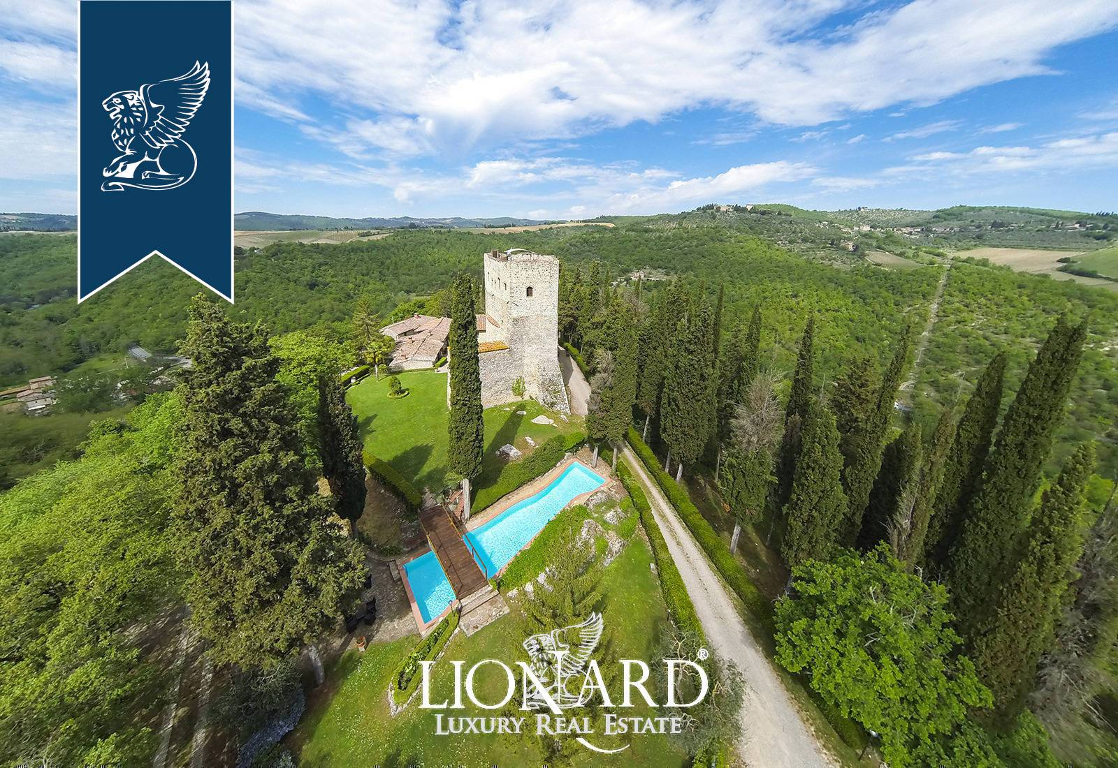 Villa in Vendita a Gaiole In Chianti: 0 locali, 4000 mq - Foto 4