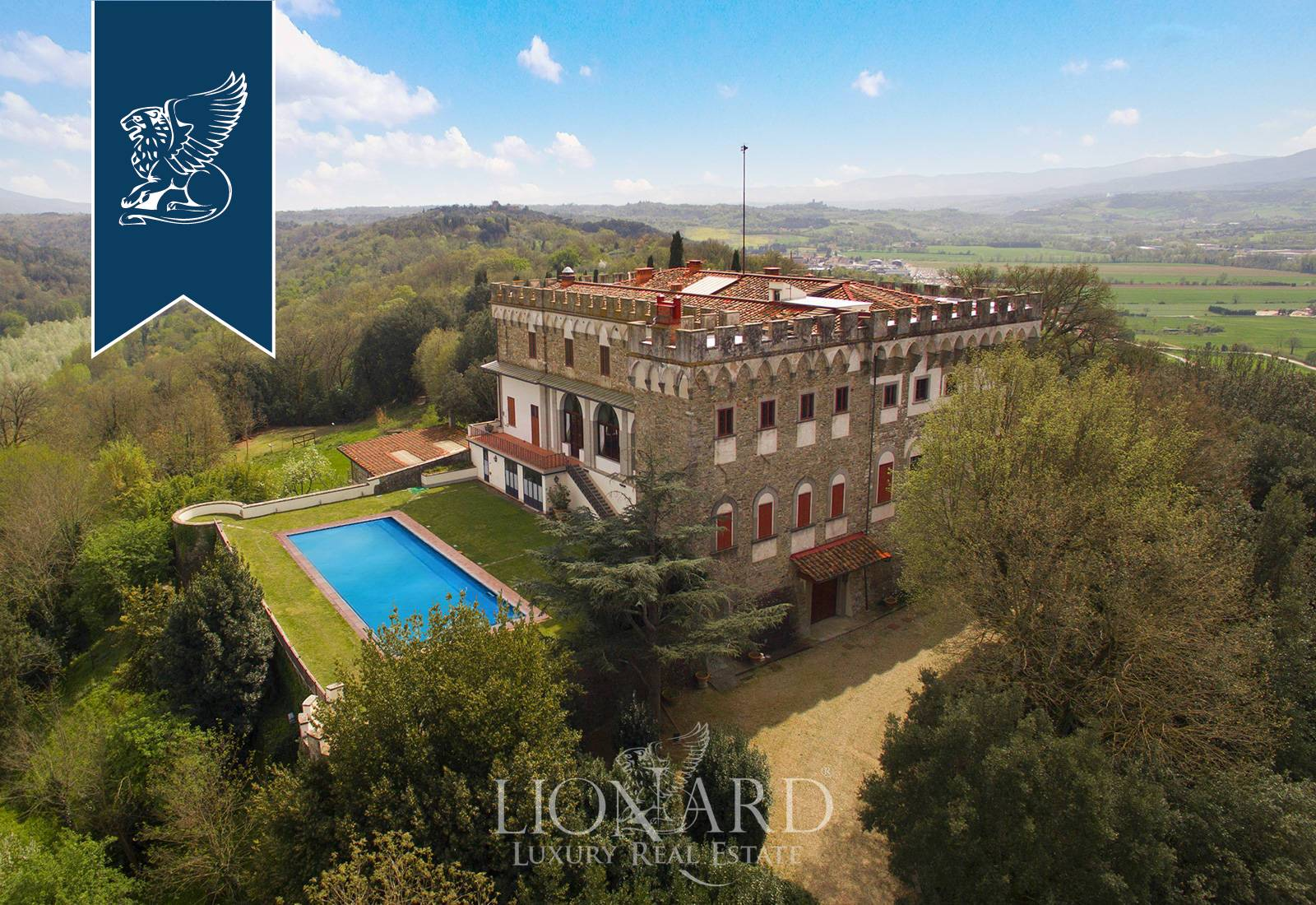 Villa in Vendita a Reggello: 0 locali, 2450 mq - Foto 2