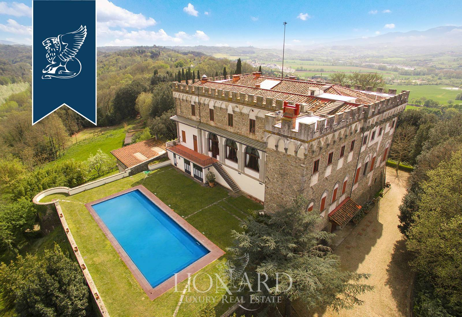 Villa in Vendita a Reggello: 0 locali, 2450 mq - Foto 4