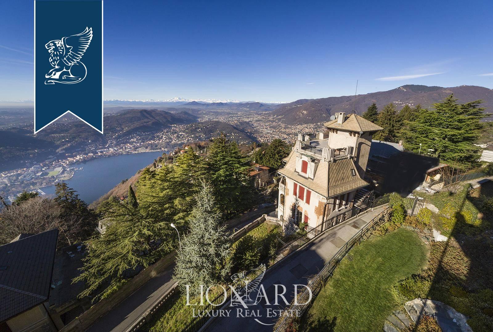 Villa in Vendita a Brunate: 360 mq